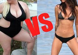 Mršave ili debele žene?